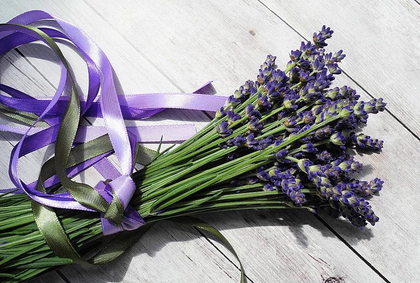 Lavender Bundle w ribbon